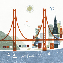 Canvas print - Colorful San Francisco