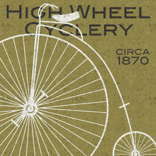 Wall mural - High Wheel Cyclery