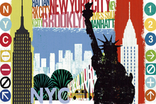 Wall mural - New York City Life I