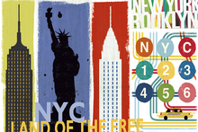 Wall mural - New York City Life II