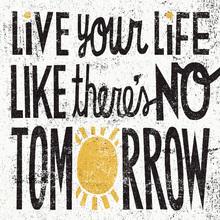 Wall mural - No Tomorrow