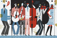 Wall mural - The Band