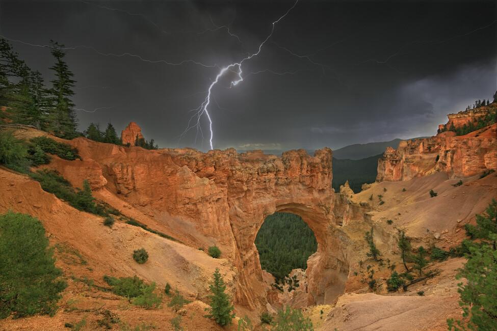 Summer Thunderstorm Wall Mural Amp Photo Wallpaper Photowall