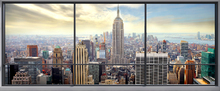 Wall Mural - Penthouse Window View