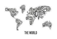 Wall mural - The World