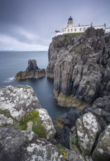 Canvastavla - Lighthouse at Neist Point, Isle of Skye - Scotland