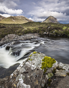 Fototapet - Beautiful Landscape, Isle of Skye - Scotland