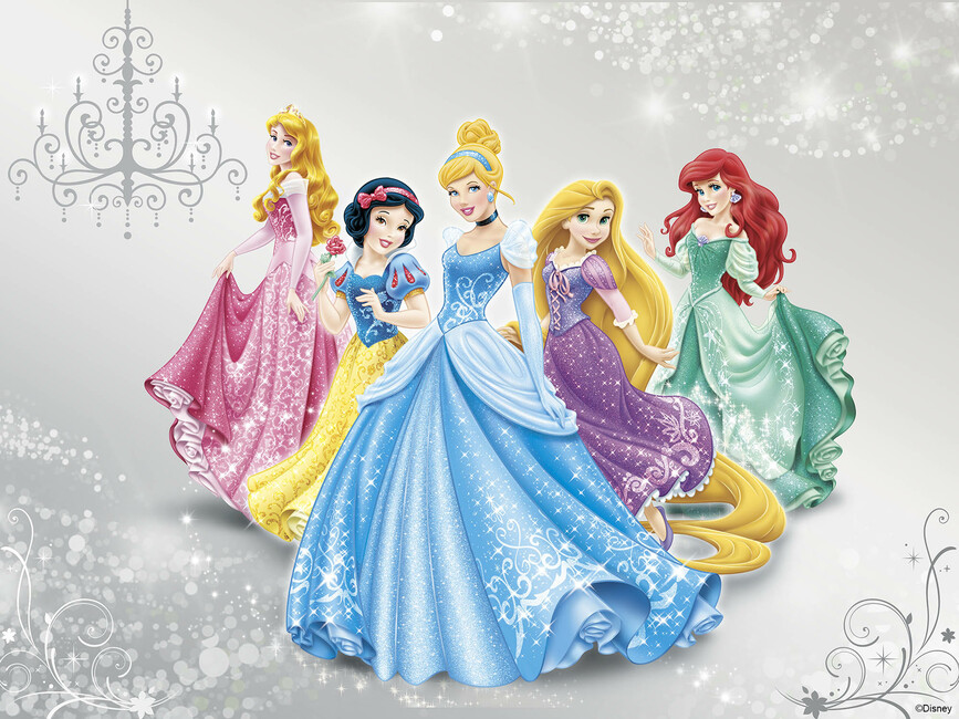Http Www Photowall Co Uk Canvas Disney Princess