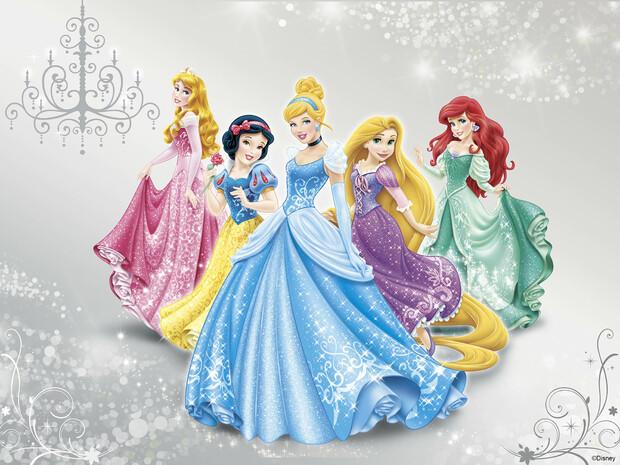 Disney princess wall mural photo wallpaper photowall for Disney princess mural