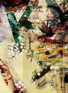 Canvas print - Poster Collage