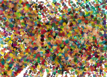Wall mural - Pop Art Confetti