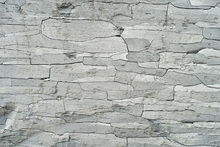 Canvas print - Grey Stone Pattern