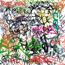 Canvas print - Graffiti Tagging