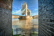 Canvastavla - Alternative View on Tower Bridge