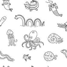 Wallpaper - Sea Monsters