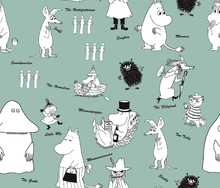 Wallpaper - Moomin - Characters Green