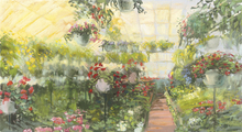 Wall mural - Greenhouse Flowers