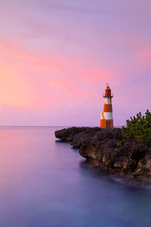 Canvas print - Folly Point Lighthouse