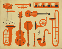 Wall Mural - All That Jazz