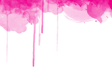 Wall mural - Fluent Fuchsia Watercolor
