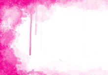Wall mural - Fuchsia Watercolor