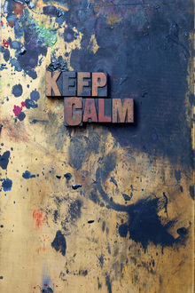 Wall mural - Keep Calm