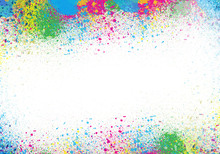Wall mural - Watercolor Outburst