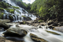 Fototapet - Maeya Waterfall