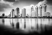 Canvas print - Bangkok Skyline