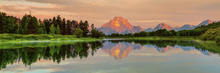 Fotobehang - Grand Teton Sunrise