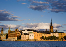 Canvas print - Stockholm Colours
