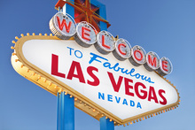 Canvas print - Welcome Sign to Las Vegas