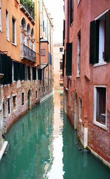 Fototapet - Tranquility in Venice