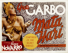 Canvas print - Movie Poster Mata Hari 2