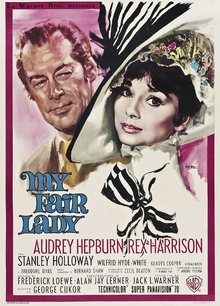Fototapet - Movie Poster My Fair Lady 2