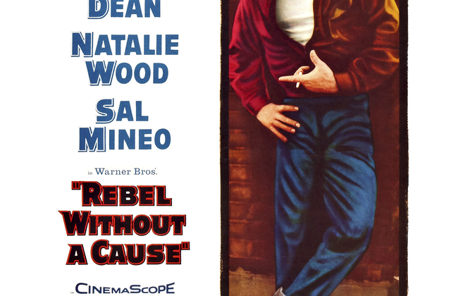 a film review of rebel without a cause starring james dean A poster for nicholas ray's 1955 drama 'rebel without a cause' starring james dean.