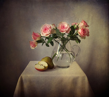 Canvas print - Still Life with Roses