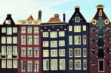 Wall mural - Amsterdam Houses
