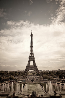 Canvas print - Eiffel Tower Seen From Palais de Chaillot