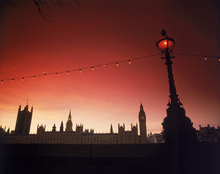 Canvas print - A Study in Scarlet, London