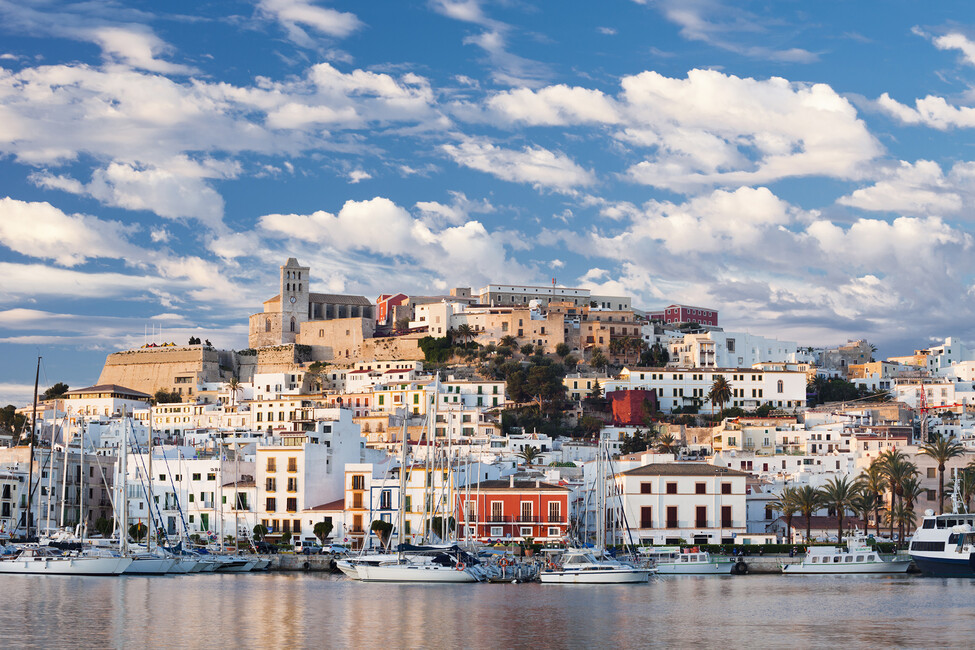 Ibiza Town Canvas Print Amp Canvas Art Photowall