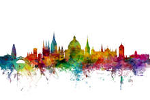 Canvas print - Oxford Skyline