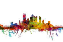 Wall mural - Pittsburgh Skyline