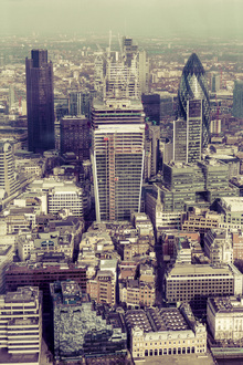 Canvas print - View from the Shard, London