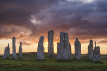 Wall mural - Callanish Sunset