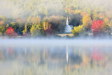 Canvas print - Little Church of the Fog