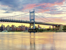 Canvas print - East River Sunset