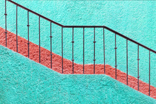 Wall mural - Stairs