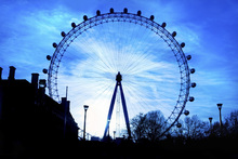 Wall mural - London Eye at Night