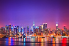 Fototapet - New York in Pink
